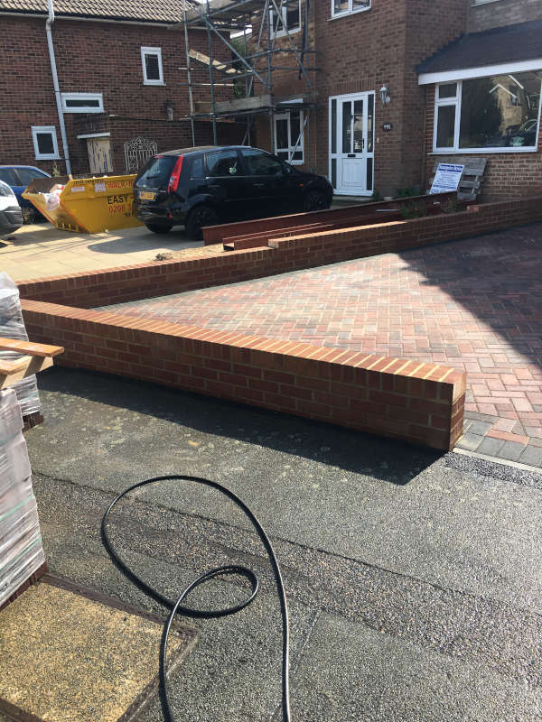 Block Paving, Brickwork, Driveway and Tarmac Project